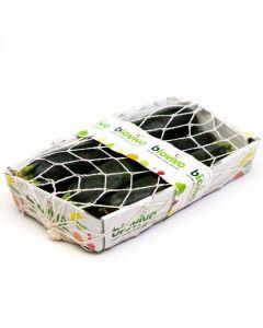 Calabacin  ecologico  bandeja 500g
