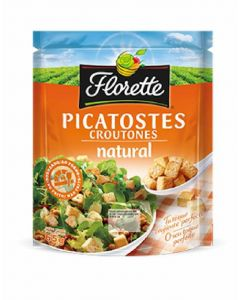 Toppings picatostes naturales florette 65gr