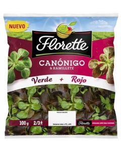 Ensalada duo canonigos+ramilletes florette 190gr