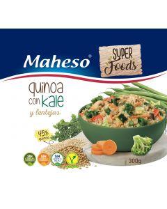 Quinoa con kale y lentejas maheso 525g