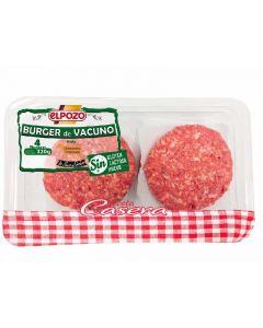 Hamburguesa de ternera bdja el pozo 320 gr