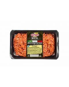 Carne picada boloñesa bandeja (aprox. 40