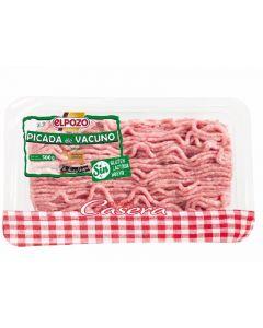Carne picada de ternera  el pozo 500 gr