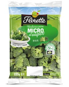Verdura microondas brocoli florette 225gr