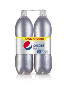 Refresco light cola pepsi pet p-2 2l