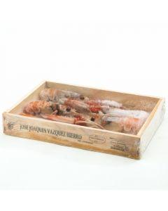 Cigala extra 8/12 caja de madera 500g
