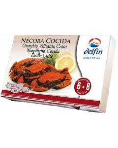 Necora cocido 8/10  delfin  800g