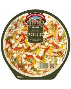 Pizza fresca de pollo tarradellas 410 gr