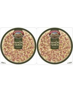 Pizza fresca jamon queso tarradellas p2 p2x22
