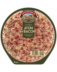 Pizza fresca atun bacon tarradellas 425 gr