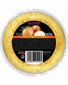 Tortilla c/cebolla palacios mini 200gr