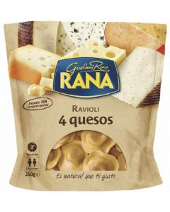 Pasta fresca tortellini 4 quesos rana 250 gr