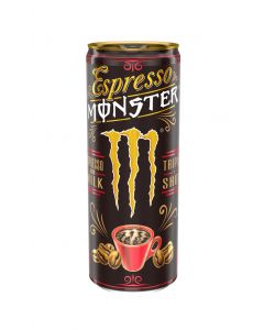 Bebida energ espresso cream monster 500ml