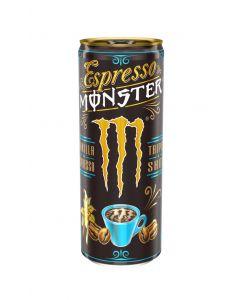 Bebida energ espresso vainilla monster 500ml