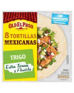 Tortillas mejicanas de trigo old el paso 326g