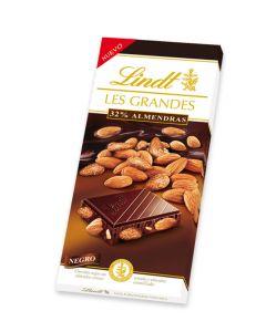 chocolate negro con almendras lesgrand lindt 150g