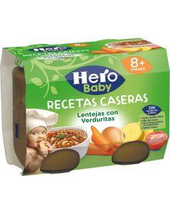 Tarrito r.casera lentejas verd hero  p2x200g