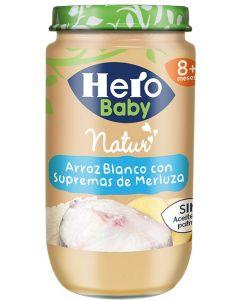 Tarrito  merluza arroz hero  235g
