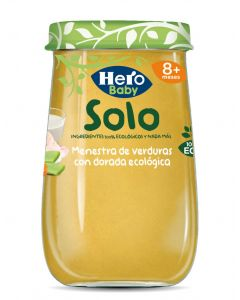 Tarrito bio de menestra dorada solo hero 190g
