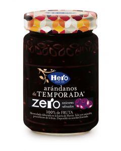 Mermelada zero de arandanos de hero 350g
