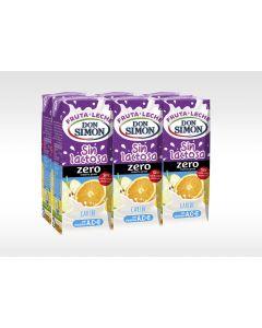 Bebida funcional de frutas y leche sin lactosa caribe don simón pack de 6 unidades de 200ml