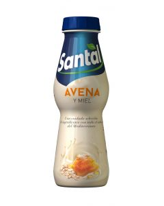Bebida de avena y miel santal botella 250ml