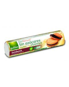 Galleta rellena chocolate sin azucar gullon  250g