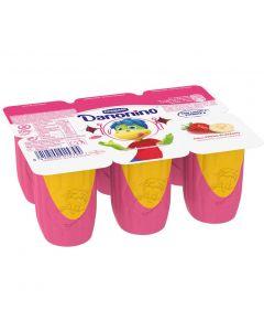 Petit de fresa plátano danonino pack de 6 unidades de 50g