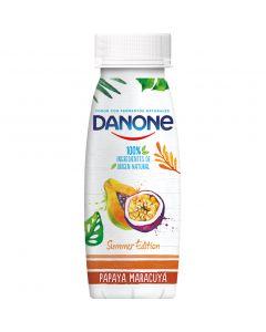 Yogur liquido papaya-maracuya danone 245gr