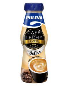 Café con leche original puleva botella 220ml