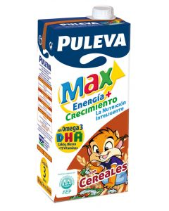 Leche con cereales puleva max brik 1l