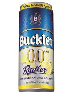 Cerveza sin alcohol radler buckler 0,0% 33cl