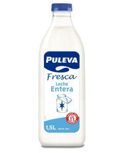 Leche fresca entera puleva botella 1,5l