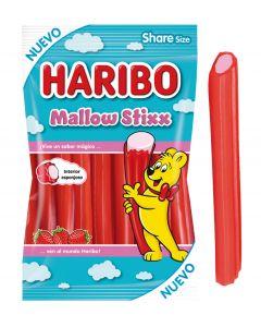 Regaliz c/mallow stixx haribo haribo  175g