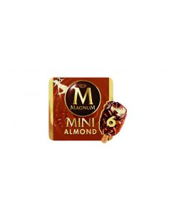 Helado magnun mini almendra p-6 360ml