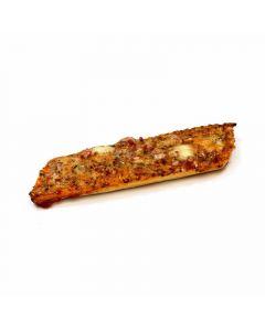 Pizzeta  bacon y queso 200g