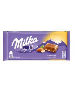 Chocolate  almendra milka  125g