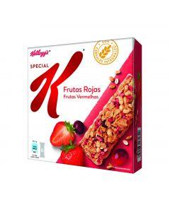 Barritas de frutos rojos special k kelloggs p6x25g