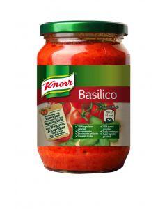 Salsa basilico knorr 400g