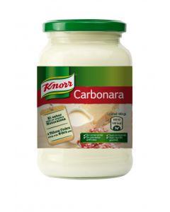 Salsa carbonara knorr 400g