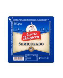 Queso semi g.baquero cuña 250 gr
