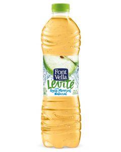 Agua refr levite manzan font-vella  pet 1,25l