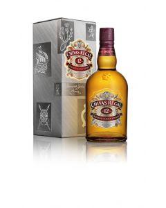 Whisky 12 años chivas regal botella 70cl