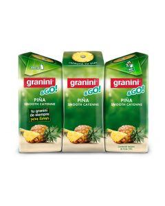 Néctar de piña granini pack de 3 unidades de 20cl