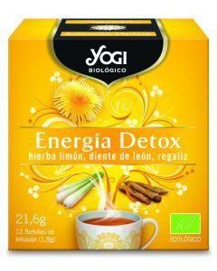 Infusion energia detox yogi organic 24 gr