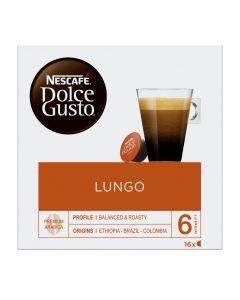 Café en cápsulas café largo dolce gusto 16 cápsulas