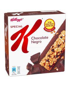 Barritas de cereales y chocolate special kelloggs paquete de 6 unidades de 20g