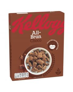 Cereales con chocolate all bran flakes kelloggs 375g