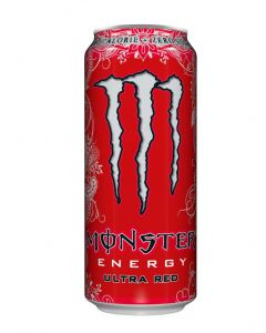 Bebida energética monster red lata 500ml