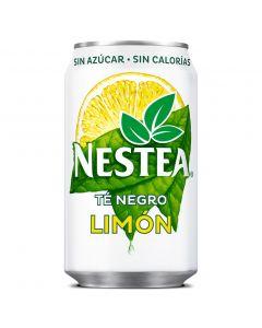 Refresco de té sin azúcar al limón nestea lata 33cl
